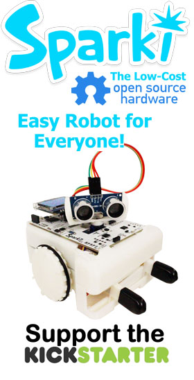 Sparki - The Easy Robot for Everyone!