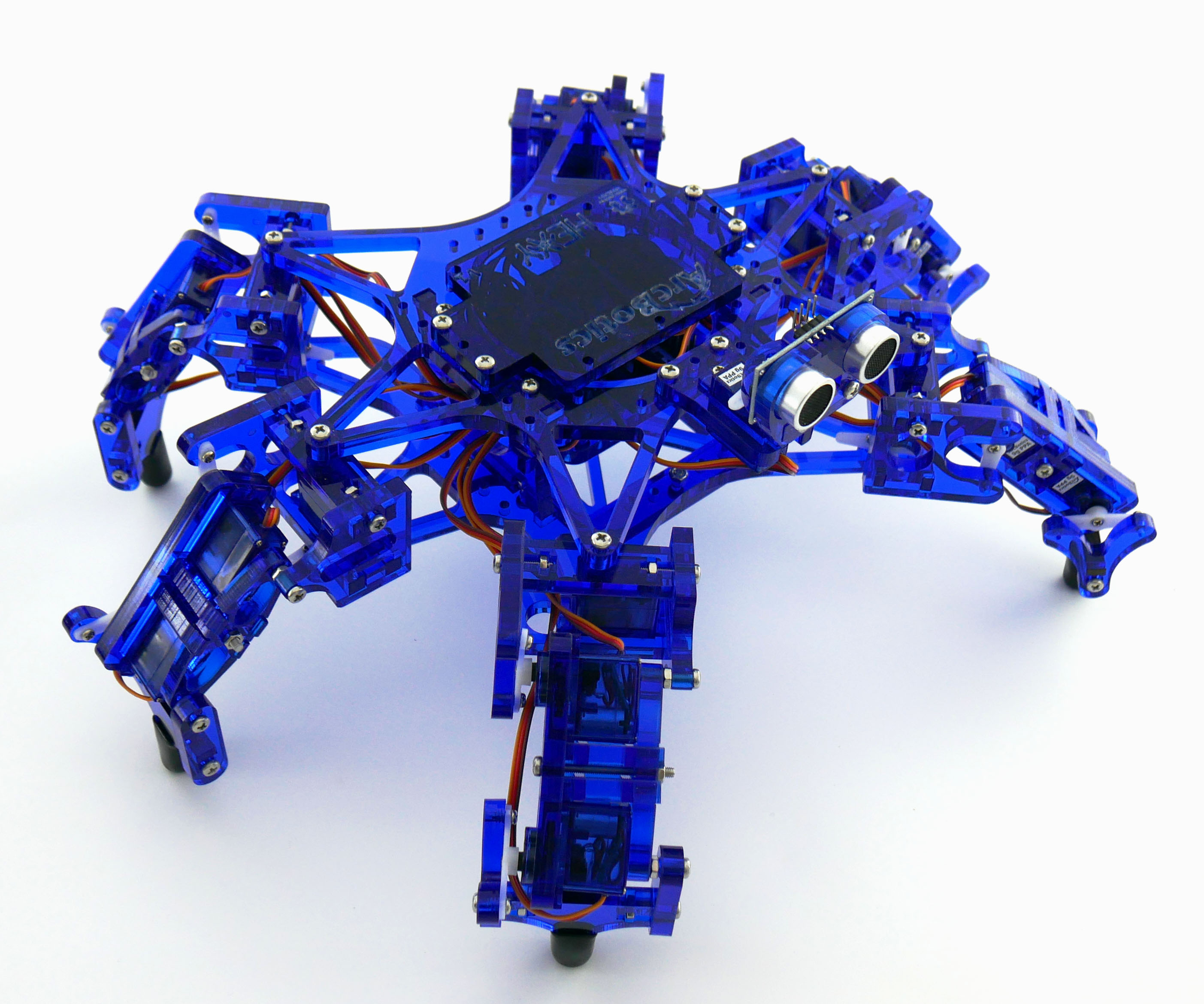 ArcBotics - Hexy the Hexapod– Open Source Low Cost Fully