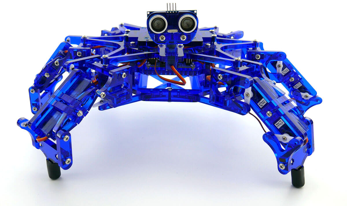 Arcbotics hexy the hexapod open source low cost fully
